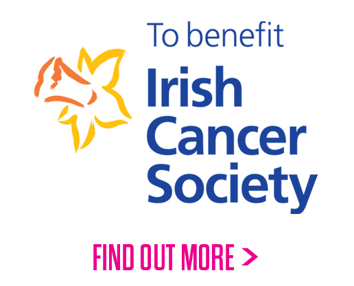To Benefit The Irish Cancer Society