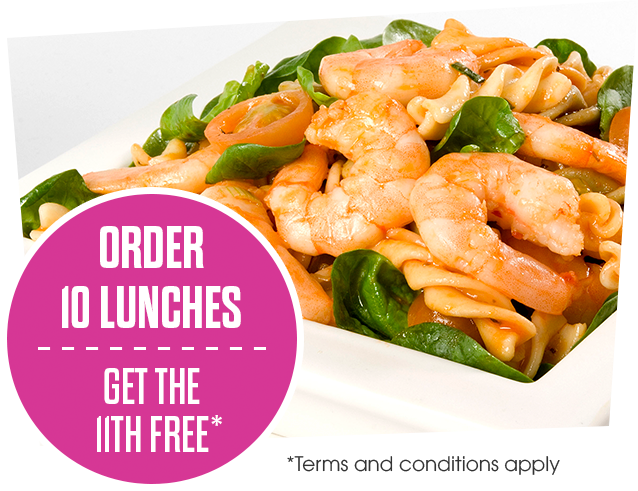 Centra Beat the Queue - Order 10 lunches get the 11th for free
