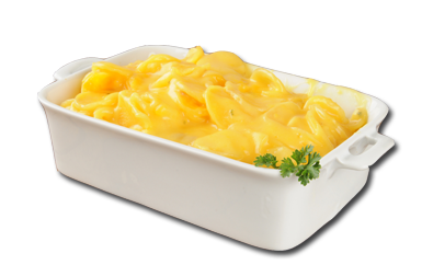 Cheesy Swede Gratin