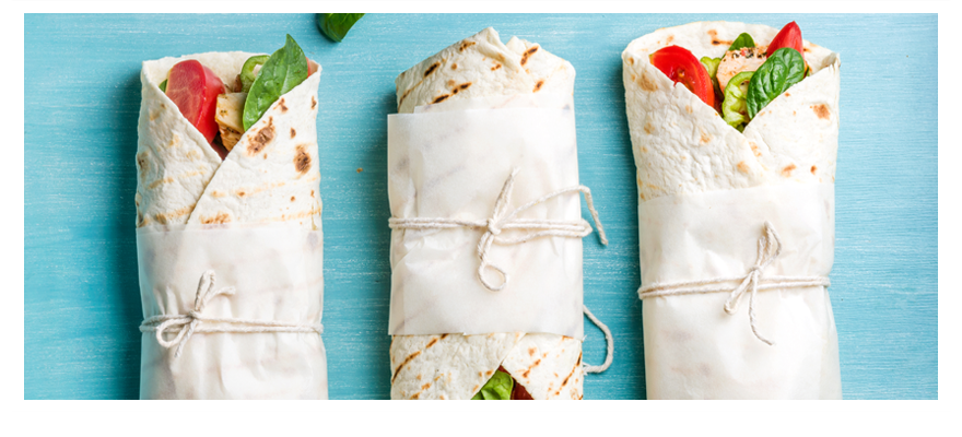 Chicken wraps 880x400