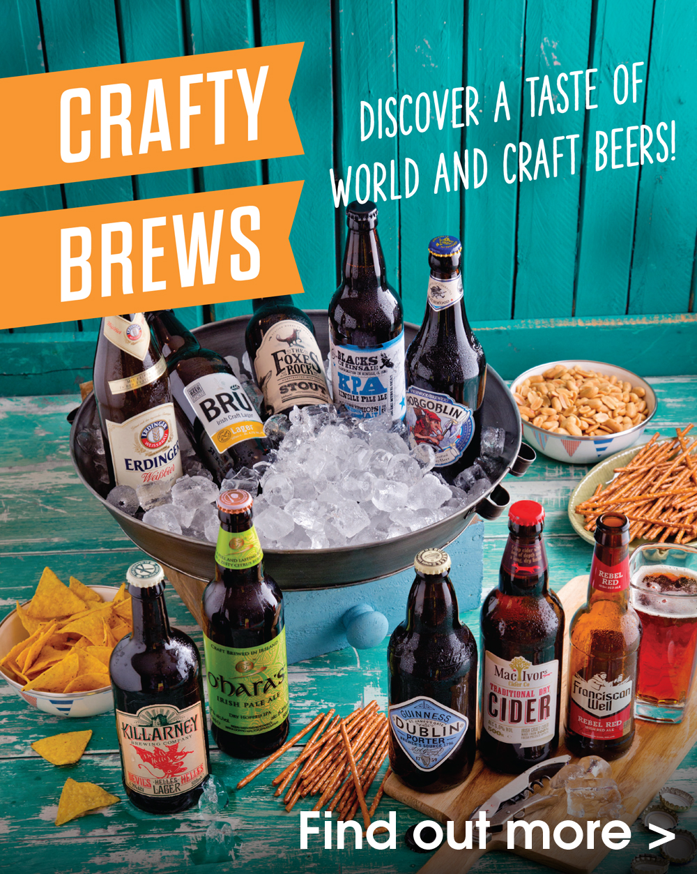 Crafty Brews - Discover a taste of World & Craft Beers