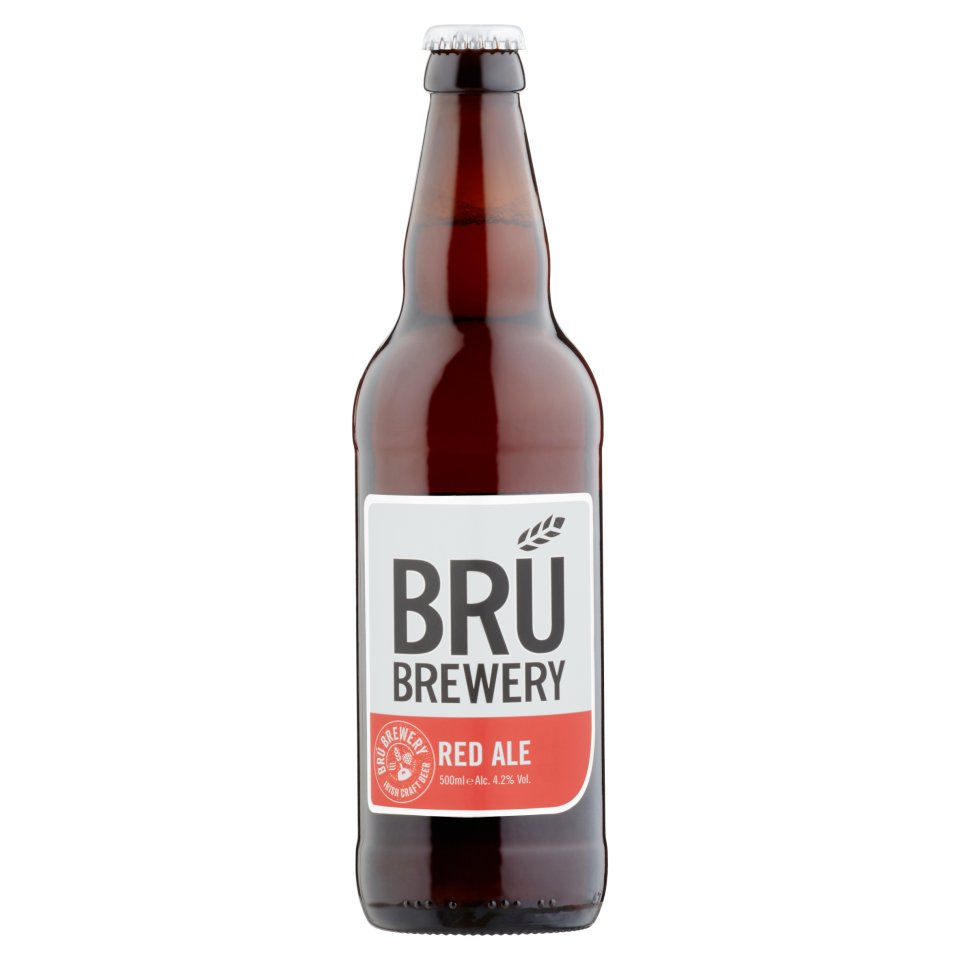 BRÚ Brewery Red Ale 500ml