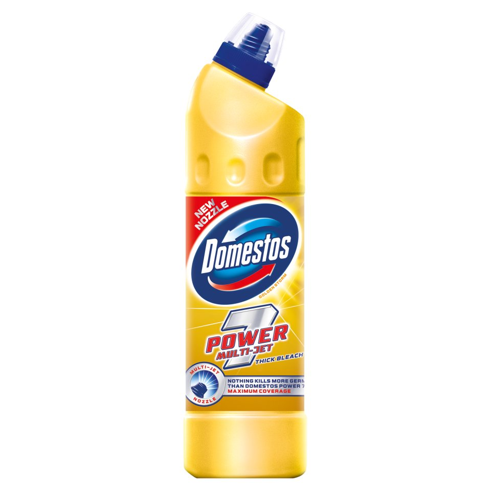 Domestos Golden Storm Power Bleach 750ml - Centra