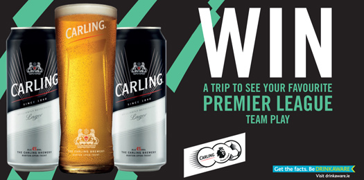 WIN with Carling