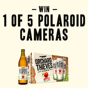 CAPTURE THE BOLDNESS WITH ORCHARD THIEVES