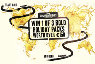 Win 1 of 3 Bold Unknown Adventures with Orchard Thieves