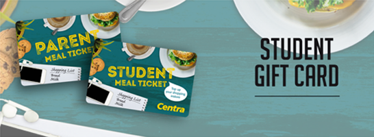 Centra Student Gift Card option 1  546x200 pixels