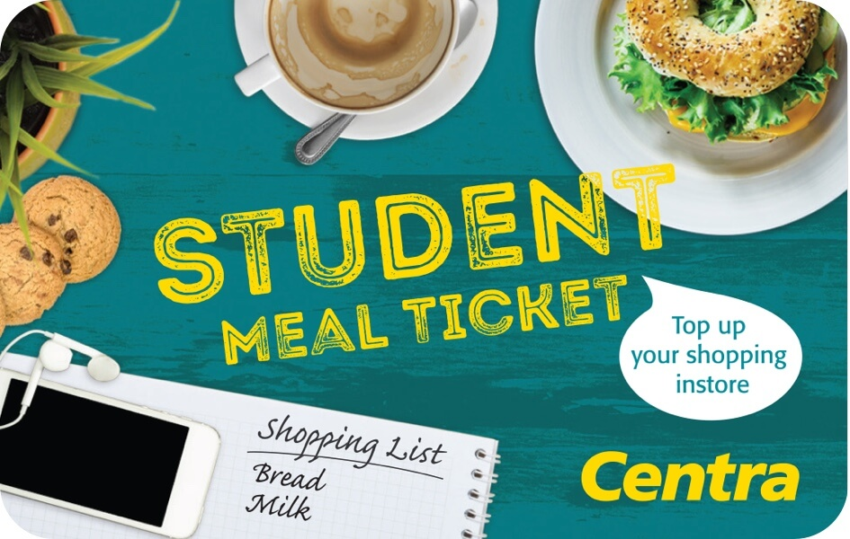 Centra Student Meal Ticket