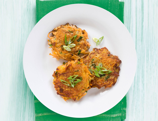 Sweet Potato Fritter