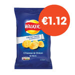 Walkers Selected Range 6 Pack 150g