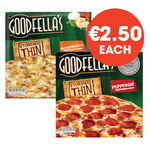 Goodfella's Stonebaked Thin Pizza Selected Range 340g - 365g