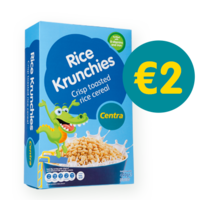 Rice krunchies