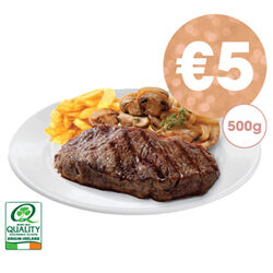 Centra Fresh Irish Sirloin Steak 500g