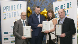 Outstanding Contribution Finalists with MRPI HR Director Luke Hanlon