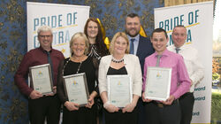 Employee Award Finalists with MRPI HR Director Luke Hanlon