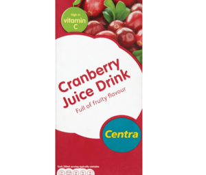 Centra Cranberry Juice Drink 1 Litre