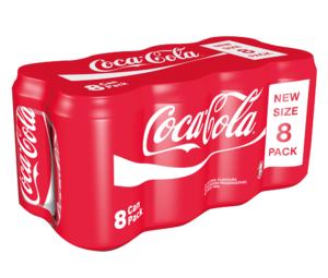Coca Cola Can Pack 8x330ml