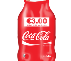 CocaCola TwinPack 2x1.5ltr