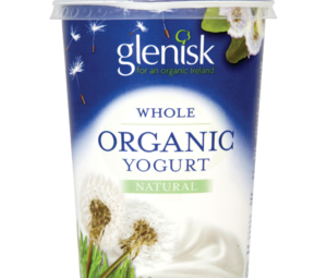 Glenisk Organic Whole Yogurt Natural 500g