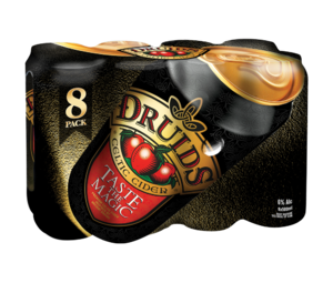 Druids Premium Celtic Cider 8 x 500ml Cans