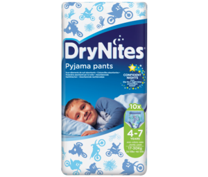 Huggies Dry Nites Boy