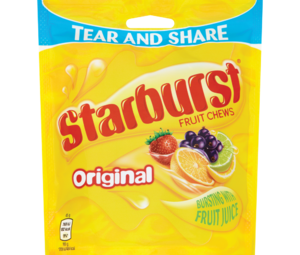 Starburst Fruit Chews Original 192g