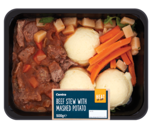 Centra Beef Stew with Mashed Potato 500g