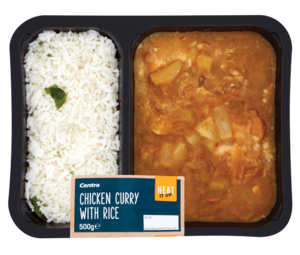 Centra Heat It Up Chicken Curry with Rice 500g
