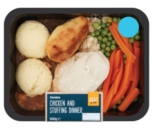 Centra Heat it Up Chicken and Stuffing Dinner 500g