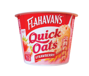 Flahavans quickOats strawberry