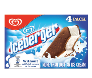Iceberger Ice Cream 4 x 100ml