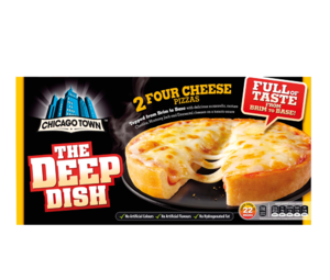 ChicagoTown CheesePizza 2pk