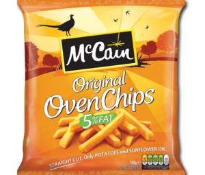 McCain ovenChips 750g