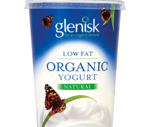 Glenisk Organic Low Fat Yogurt Natural 500g