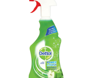 Dettol Power   Fresh Advance Multi Purpose Refreshing Green Apple 500ml