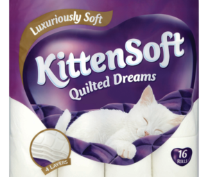 KittenSoft Quilted Dreams 16 Rolls