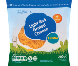 Centra Light Red Grated Cheese 200g