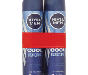 NIVEA MEN Cool Kick 48h Anti Perspirant 2 x 150ml