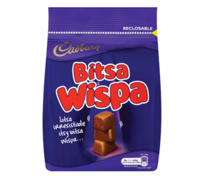 Cadbury Bitsa Wispa Chocolate Bag 130g