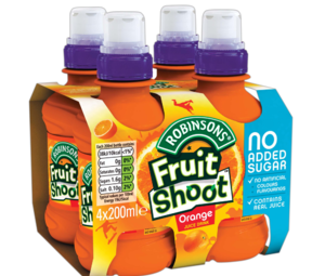 Robinsons fruitShoot Orange 4x200ml