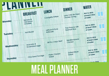View your Meal Planner now
