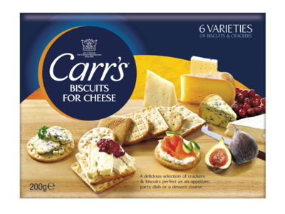 CARRS Biscuits for Cheeese 200g