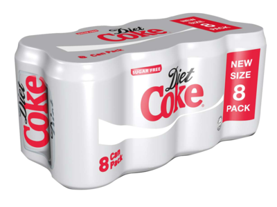 Diet Coke Can Pack 8x330ml