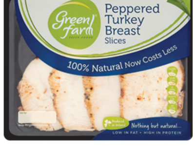 Green Fam Peppered Turkey Breast Slices 120g