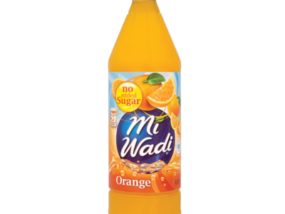 MiWadi Orange NoAddedSugar 1ltr