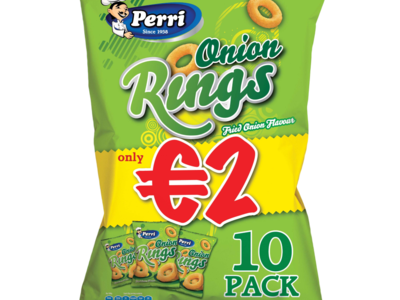 Perri onion rings 10pk