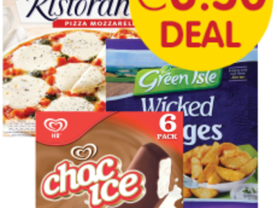 Frozen meal deal