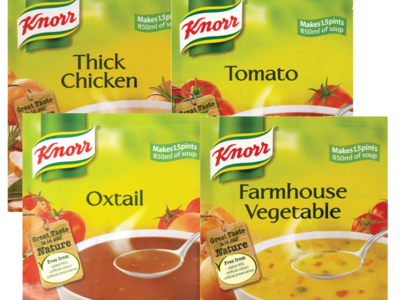 Knorr selected range