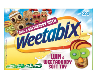 WEETABIX WEETABUDDIES NEW DESIGN 2016