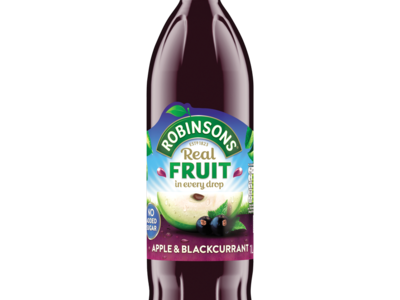 Robinsons No Added Sugar Apple   Blackcurrant 1L